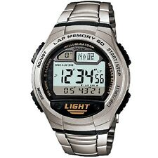 Casio W-734D-1AV Stainless Steel Classic Digital Watch with Box Included