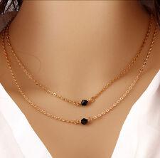 Hot Women Charm Jewelry Pendant Gold Chain Choker Chunky Statement Bib Necklace