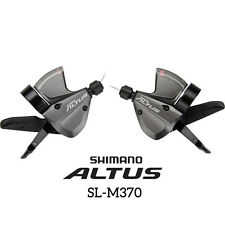 Shimano Altus SL-M370 Rapid Fire Trigger 3x9-Speed Shifter Set with Inner Cable