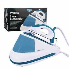 QUEST 2600W POWER STEAM GENERATOR IRON STAINLESS STEEL SOLO PLATE