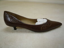 Ladies Brown Court Shoes New Look Padded Lining Sze 4/37  Brand New Small Marks