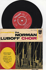 The Norman Luboff Choir - Brahms´s Lullaby