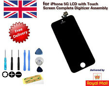New LCD Display Replacement Touch Screen Digitizer Assembly for iPhone 5G Black
