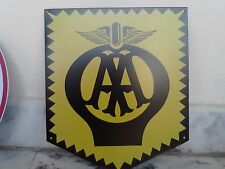 RETRO REPRODUCTION AA ALUMINIUM SIGN 400mmx 350mm