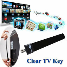 Clear TV Key HDTV FREE TV Digital Indoor Antenna Ditch Cable As Seen on TV
