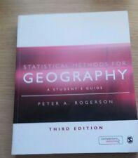 Statistical Methods for Geography - 3rd Edition - A Student's Guide