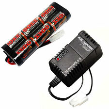 Overlander 3300mah 7.2v NiMH Battery Pack & Charger for RC Car Tamiya Plug