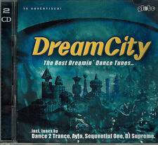 2 CD`s Various -Dream City The Best Dreamin Dance Tunes,Sehr gut,Tracks 2. Foto