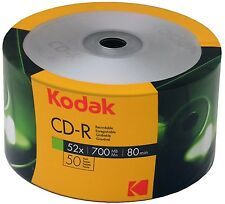 Kodak CD-R 100Stk. 80Min 700Mb 52x 2x50er Shrink
