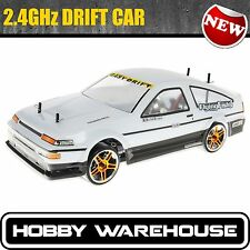 HSP Initial D Toyota AE86 2.4Ghz Electric Drift Road 1/10 Scale 94123 RC Car