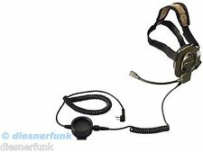 Bow-M Evo K Tactical Military Paint Headset KENWOOD Baofeng Wouxun Team K-Norm