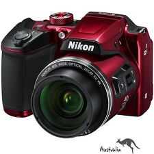 3YR AU WTY☆FREE POSTAGE☆Nikon COOLPIX B500 Digital Camera (Red) Brand New