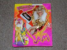 1987 Jem and the Holograms Glitter & Gold Jem/Jerrica Doll New MIB Canadian