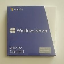 MS Windows 2012 Server R2 Standard Box 64 Bit inkl. 5 CAL DVD P73-06048 NEU