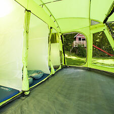 skandika Copenhagen 6 Person/Man Family Dome Tent Sewn-in Groundsheet Green New