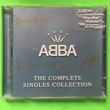 "ABBA - ""ABBA THE COMPLETE SINGLES COLLECTION""   2 CD SET. GERMANY. 1999."