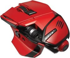 Mad Catz M.O.U.S. 9 Red Wireless Gaming Mouse for PC, Mac & Mobile Devices