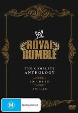 WWE - Royal Rumble - The Complete Anthology : Vol 3 (DVD, 2012, 5-Disc Set)