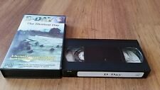 D DAY THE SHORTEST DAY - VHS VIDEO TAPE