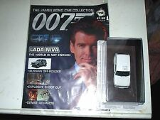 JAMES BOND CAR COLLECTION #116 LADA NIVA in BLISTER @MAGAZINE