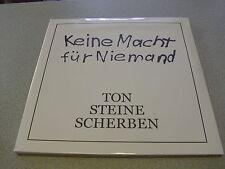 Ton Steine Scherben - Keine Macht Für Niemand - 2LP Vinyl // Neu&OVP // Gatefold
