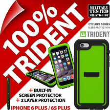 New Trident Cyclops Green Protective Case Rugged for Apple iPhone 6 Plus/6S Plus