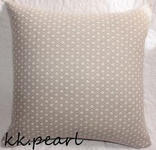 "Modern Contemporary Retro Cushion Cover John Lewis Park Lane Fabric 16"" Grey"
