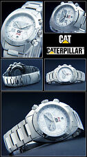 LUXURY CHRONOGRAPH -CAT WATCH EXCLUSIVE RACING DESIGN 10 BAR WATERPROOF NEW