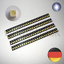 100x kalt weiß SMD LED 3528 PLCC2 PLCC 2 450mcd RoHS 5500K Vishay