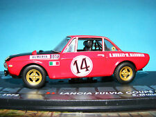 Lancia Fulvia HF 1.6  RALLY Car  Product in 1:43rd. Scale