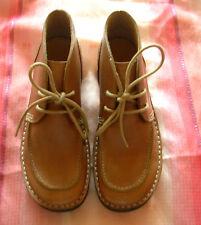 Clarks Damen Leder Schnürschuhe Hellbraun Grösse.36,5 NEU