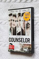 The Counselor (DVD), R- 4, Very good, free shipping within Australia