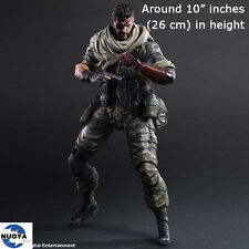 Play Arts Kai Metal Gear Solid V The Phantom Pain Snake Action Figure Statue Toy