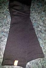 Quality 100% Merino wool arm warmers black Cycling Sports Winter Large XLarge