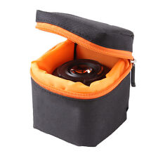 Black Waterproof Protector Pouch Case Bag Cover For DSLR Mirrorless Cameras Lens