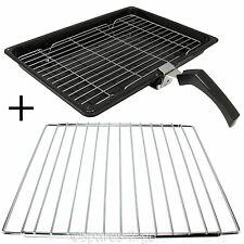 Grill Pan + Handle + Rack + Adjustable Extendable Shelf for INDESIT Oven Cooker