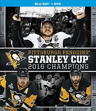 NHL 2016 Stanley Cup Champions [Blu-ray] *NEU* Pittsbugh Penguins Meister
