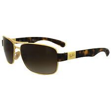 Ray-Ban Sunglasses 3522 001/13 Gold Brown Gradient
