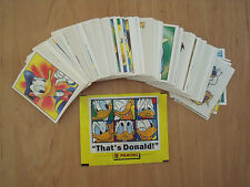 That's Donald  ( Panini / 1996 ):   kompl. Stickersatz 1-228