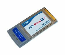 UK stock D-Link DWL-G650+ AIRPLUS G+ WIFI 2.4GHz PCMCIA Card