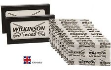 2 Pack x Genuine WILKINSON SWORD Double Edge Shaving Razor Barber Cut 10 Blades