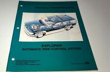 1997  FORD EXPLORER Automatic Ride Control System  Factory Training Bulletin