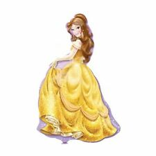 Party Supplies Decorations Girls Birthday Princess Belle Shape Foil Balloon