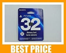 NEW SONY Genuine PS Vita 32GB 32 GB Save Memory Card for PSV Handheld Console