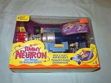 2001 Jimmy Neutron Boy Genius Build & Blast Air Rocket NEW