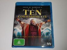 BLU-RAY :  THE TEN COMMANDMENTS  /  TEN COMMANDMENTS  - 2 DISC SET   BLURAY