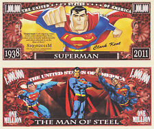 RARE: Superman 1,000,000 Novelty Note, Comics, Buy 5 Get one FREE