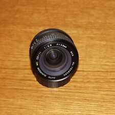 28mm f2.8 SUNAGOR MC wide angle lens manual focus for PENTAX K PK made in JAPAN