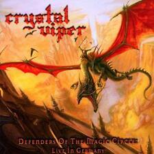 CRYSTAL VIPER Defenders Of The Magic Circle: Live In Germany CD - 163660