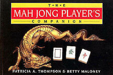 The Mah Jong Players Companion By Patricia A. Thompson & Betty Maloney